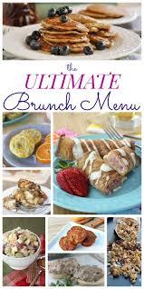 the ultimate brunch menu brunch menu brunch and menu