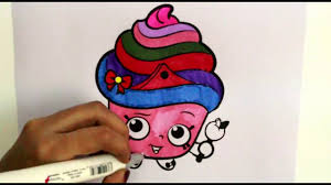 coloring cupcake ice cream for learning colors cupcakes coloring