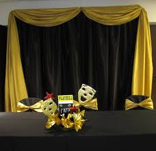 party people event decorating company broadway themed awards