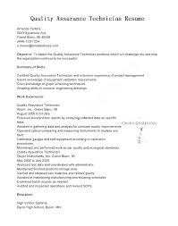quality assurance resume exles this is quality assurance resume resume objective for quality