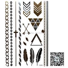 bracelet designs tattoo images 1pc lot tj011 temporary tattoo flash bracelet wrist strap arrow jpg