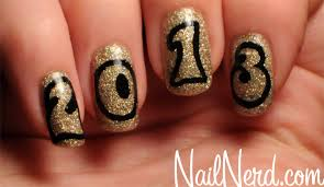nail nerd nail art for nerds new years 2013 nails