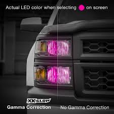 led light bulbs for trucks xkchrome ios android smartphone app bluetooth xkchrome 2 in 1 led