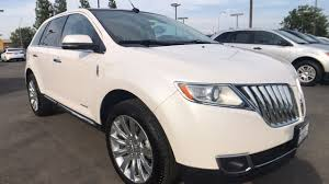 fresno lexus pre owned used 2013 lincoln mkx suv crystal champagne tri coat for sale in