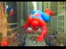 macy s thanksgiving day parade 1991 spider float