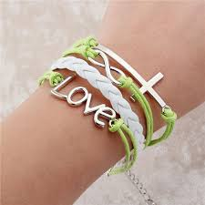 leather bracelet woman images Infinite double leather charm bracelet woman jewelry smooth shop jpg