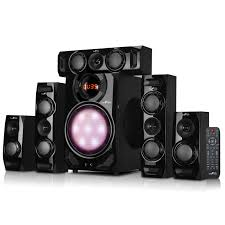 Home Theater Speakers Review by Befree Sound 5 1 Channel Surround Sound Bluetooth Speaker System