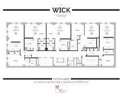 l tower floor plans the wick tower nyo property group