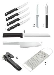 kitchens knives 18 essential tools knives gadgets for healthy kitchens 7