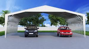 Carport Styles 34x36 Steel Carport Structure