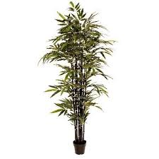 artificial bamboo tree with black stems 6ft artificial tree