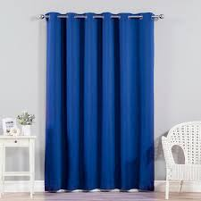 Single Blackout Curtain Best Home Fashion Inc Extra Wide Width Blackout Thermal Single