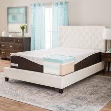 comforpedic from beautyrest 14 inch king size gel memory foam