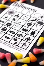 Free Printable Halloween Games Die Besten 25 Halloween Bingo Ideen Auf Pinterest Halloween