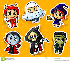 halloween stickers royalty free stock images image 32945249