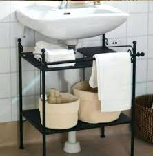 Bathroom Sink Storage Solutions Bathroom Sink Storage Pedestal Sink Storage Cabinet Home