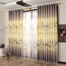 Yellow And Purple Curtains Beautiful Decorative Purple And Yellow Panel Curtains