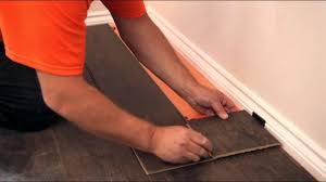 How To Install Laminate Wood Flooring On Stairs How To Lay A Laminate Floor Youtube