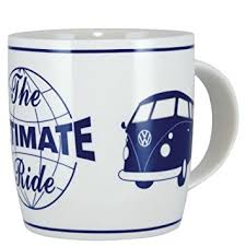 amazon com vw collection by brisa camper bus coffee mug design