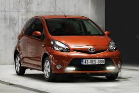 aygo toyota aygo city car retouched for the 2012 model year with video