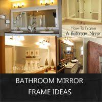 Frame Bathroom Mirror by Diy Tile Mirror Frame I U0027ve Been Wanting To Do This To Our Master