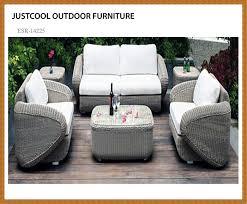 Outdoor Rattan Wicker Sofa Setpatio Furnituredragon Mart Dubai - Wicker sofa sets