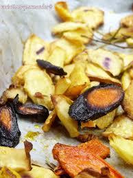 cuisiner les l馮umes anciens variations gourmandes légumes anciens rôtis au four
