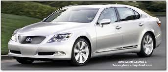 2007 lexus ls 460 luxury package lexus ls400 ls430 and ls460 history and description