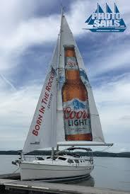 coors light sailboat photosails
