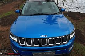 tan jeep compass jeep compass official review team bhp