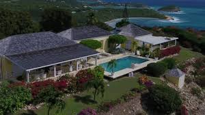 half moon bay antigua luxury villa youtube