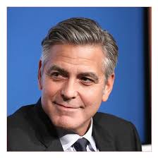 Gray Hair Mens Hairstyles by Famous Haircuts Men Also George Clooney Hairstyle Grey Hair U2013 All