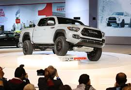 toyota tacoma jacked up beefed up 2017 toyota tacoma trd pro 4wd joins updated lineup