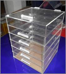 Acrylic Desk Drawer Organizer Clear Acrylic Desk Organizer Home Design Ideas