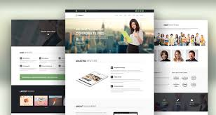corporate html templates free and premium corporate html website