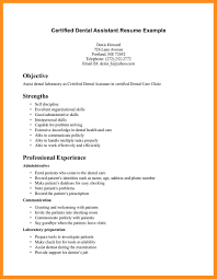 Sample Resume Objectives Dental Assistant by 10 Dental Assistant Resume Objective Fillin Resume