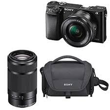sony a6000 best buy black friday deals deal sony a6000 24 3 mp mirrorless camera with 16 50mm and 55 210
