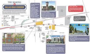Grapevine Map Grapevine To Invest In Dallas Road Remake Community Impact Newspaper