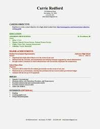 Resume Template For A Teenager Free Resume Templates For High Students Resume Template