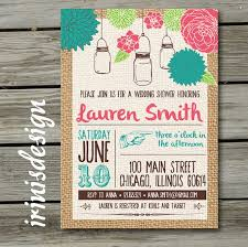 Shabby Chic Wedding Shower by 8 Best Wedding Shower Invites Images On Pinterest Wedding