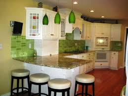 green and white kitchen ideas kitchens green tiles recycled tiles for backsplashes home