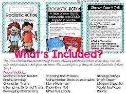 3 teacher free realistic fiction rubric