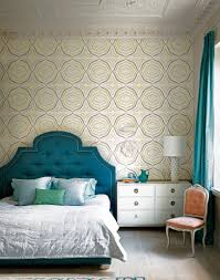 Blue And White Bedroom Wallpaper Take A Tour Of This Colour Filled Home In London The Room Edit