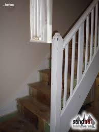 1930s Banister Staircase Renovation In Eltham South East London Se9