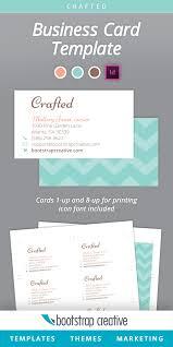 card indesign card template