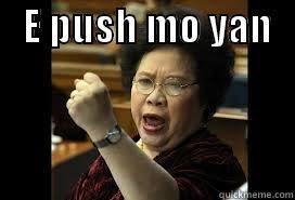Meme Mo - push mo yan quickmeme