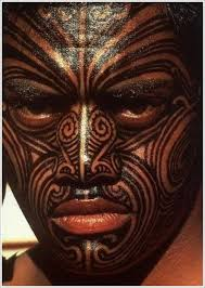 full face maori tribal tattoo designs for men maori tattoos