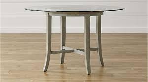 silverado chrome 47 round dining table glass top dining table round popular silverado chrome 47 cb2