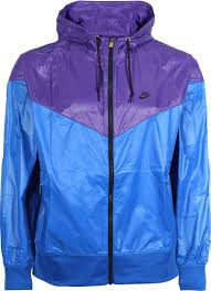 nike windbreaker nike blue and purple windrunner on the hunt