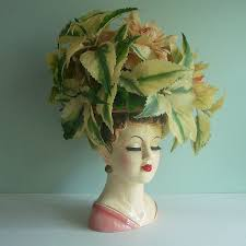 Vintage Lady Head Vases Lady Head Vases First Come Flowers